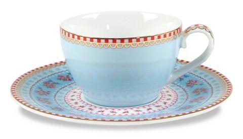 Эспрессо чашка и блюдце »Ribbon ...