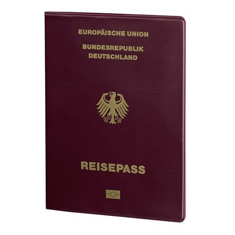 Обложка на паспорт Hamburg Bordeaux
