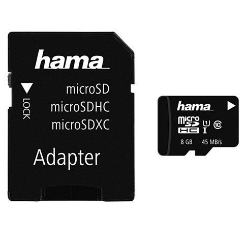 Speicherkarte micro SDHC 8GB Class 10 ...