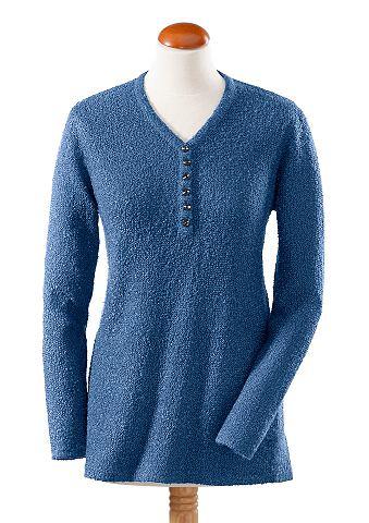 Пуловер в pflegeleichter Qualit