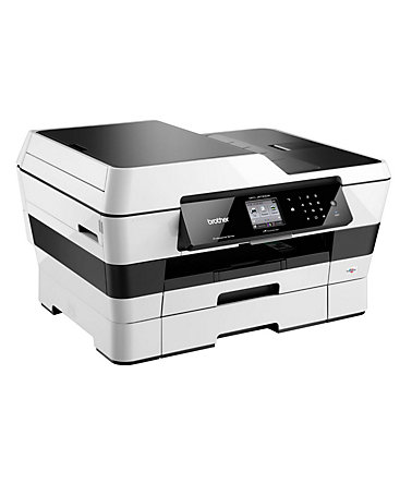 Brother Tintenstrahl-Multifunktionsdrucker »MFC-J6720DW 4in1« - Silber