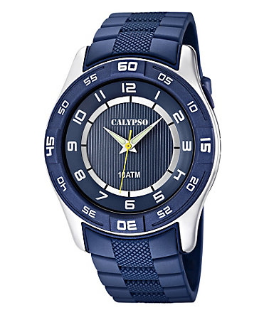 CALYPSO WATCHES Quarzuhr »K6062/2« - blau
