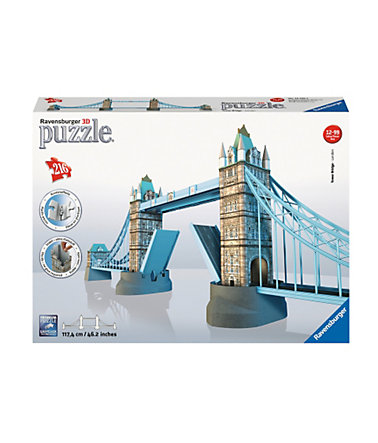 Ravensburger 3D Puzzle 216 Teile, »Tower Bridge« -