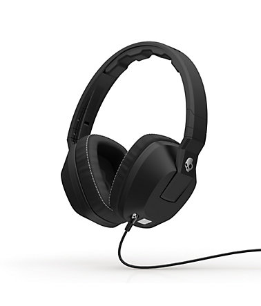 Skullcandy Headset »CRUSHER OVER-EAR W/MIC 1 BLACK« - schwarz