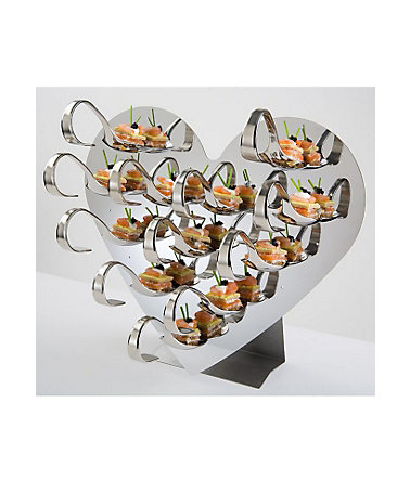 Gourmet-Display-Set, APS (33tlg.) - silberfarben