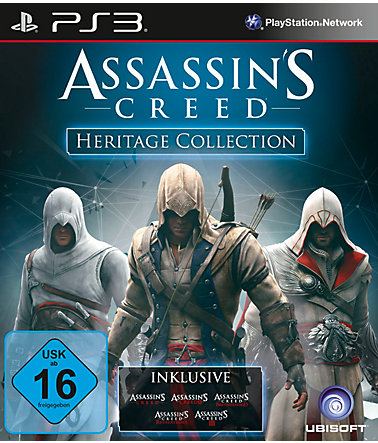 Ubisoft Playstation 3 - Spiel »Assassin's Creed Heritage Collection« -