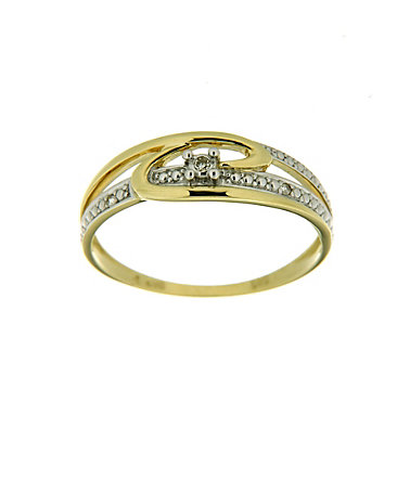Vivance Jewels Ring mit Diamanten - Gelbgold333 - 16=50mmUmfang16
