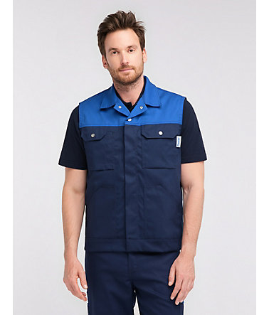 Pionier ® workwear Weste Top Comfort Stretch - marine/royal - L0