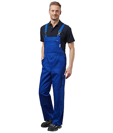 Pionier ® workwear Latzhose Cotton Pure - kornblau - 102102