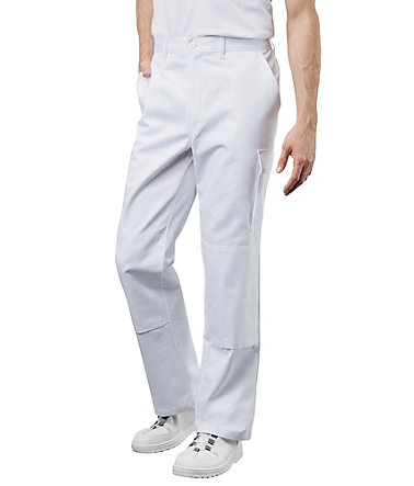 Pionier ® workwear Bundhose Cotton Pure - weiss - 102102