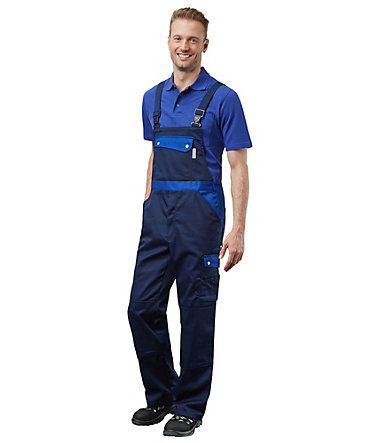 Pionier ® workwear Latzhose Active Style - marine/royal - 5050
