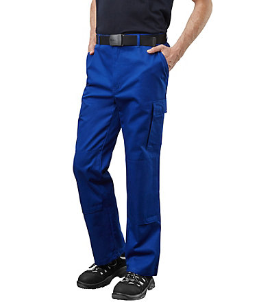 Pionier ® workwear Bundhose Cotton Pure - kornblau - 102102