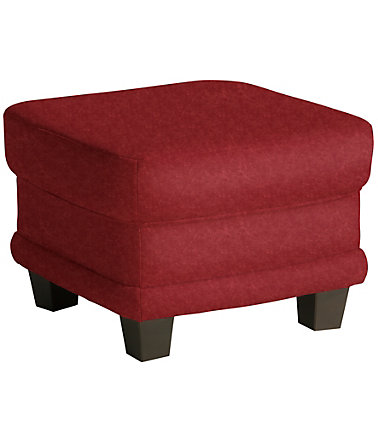 Home affaire Hocker »Camelita« - bordeaux - MicrofaserPRIMABELLE®