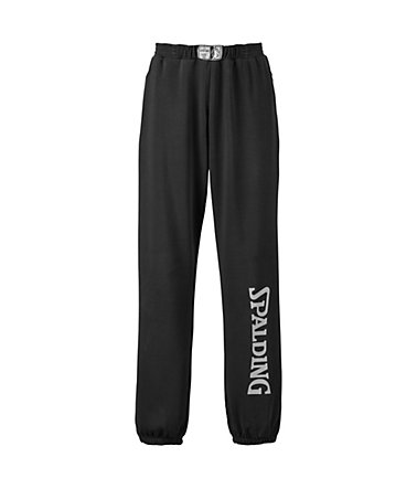 SPALDING Team Long Pants Kinder - schwarz/silbergrau - S-1640