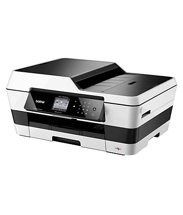 Brother Tintenstrahl-Multifunktionsdrucker »MFC-J6520DW 4in1« - Silber