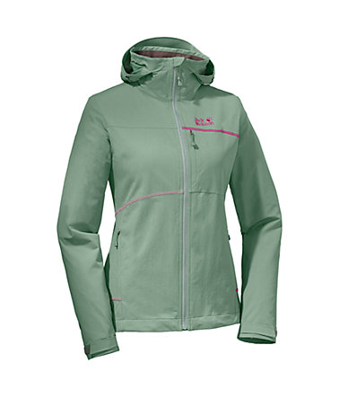 Jack Wolfskin Softshelljacke »ROCK ME JACKET WOMEN« - opalgreen - L(42/44)0