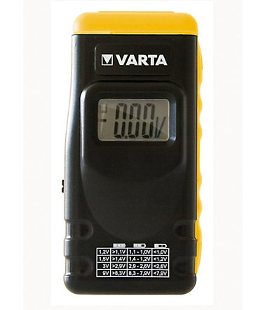 Varta, Batterie-Tester, »LCD Digital Battery Tester 891« -