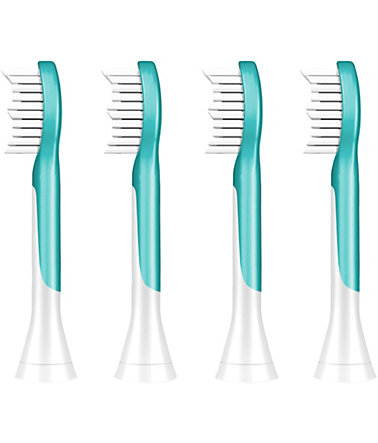 Philips Sonicare Ersatzbürsten HX6044/33 Sonicare For Kids, 4er Pack -
