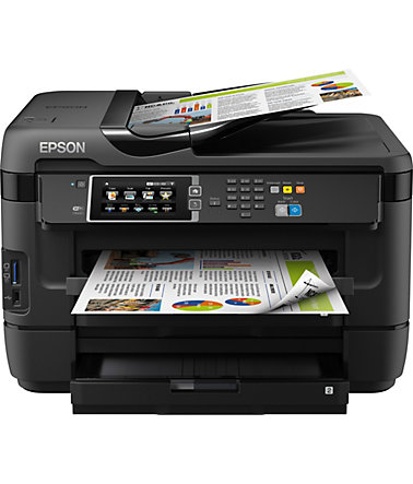 Epson WorkForce WF-7620DTWF Multifunktionsdrucker - schwarz