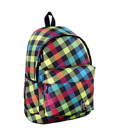 All Out Rucksack Luton, Rainbow Check - Coloured
