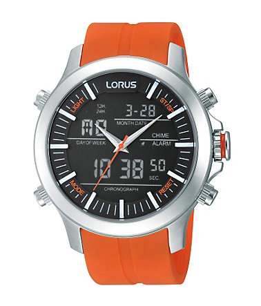 LORUS Chronograph »RW609AX9« - orange