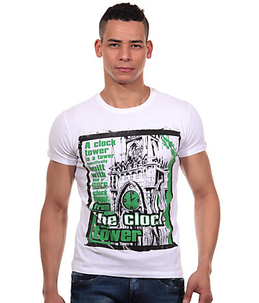 R-NEAL T-Shirt Rundhals slim fit - weiss - L0