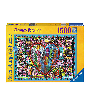 Ravensburger Puzzle 1500 Teile, »All that Love in the Middle oft the City« -
