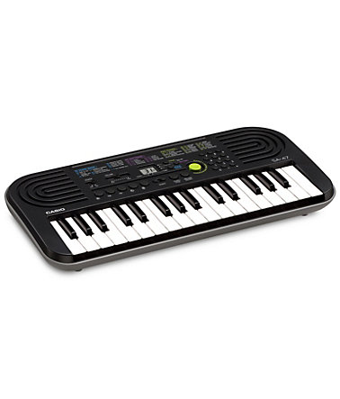 Casio® Keyboard, »SA-47« - grau