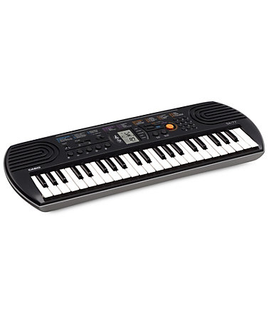 Casio® Keyboard, »SA-77« - grau