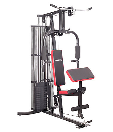 Kraftstation, »Home Gym SP-HG-010«, Sportplus - Schwarz/Rot