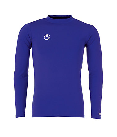 UHLSPORT Funktionsshirt Langarm Kinder - royal - XS-1520