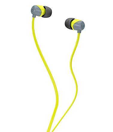 Skullcandy Kopfhörer »JIB IN-EAR W/O MIC GRAY/HOT LIME/HOT LIME« - schwarz