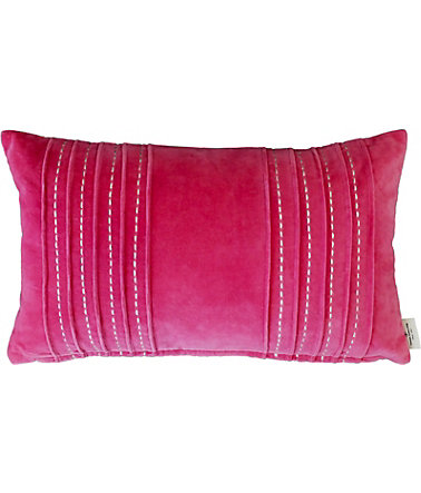Kissenhülle, Tom Tailor, »Plush« (1er Pack) - pink - 30x50cm30