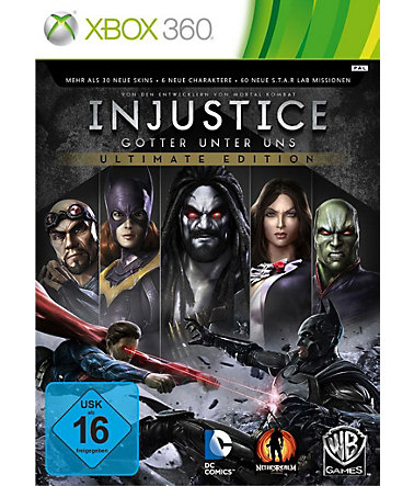 Warner Games XBOX 360 - Spiel »Injustice - Ultimate Edition« -