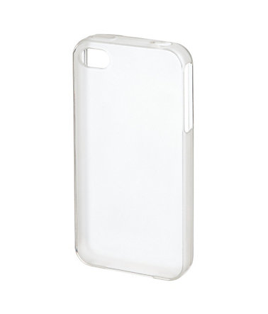 Hama Cover Crystal für Apple iPhone 4/4s, Flexible Hülle »Transparent« - Transparent