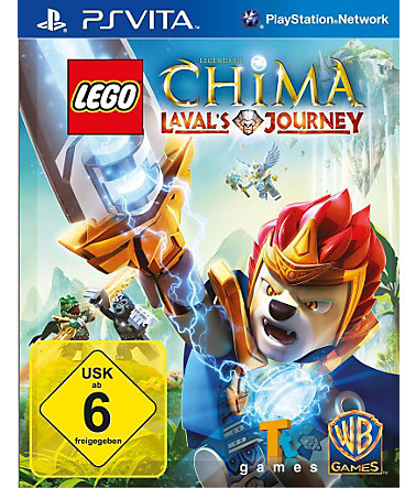 Warner Games Playstation Vita - Spiel »LEGO Legends of Chima: Laval's Journey« -