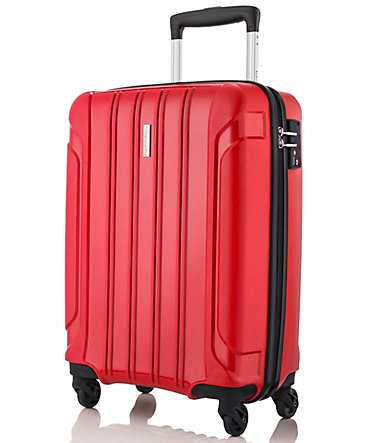 travelite, Trolley mit 4 Rollen, »Colosso« - rot - 5555