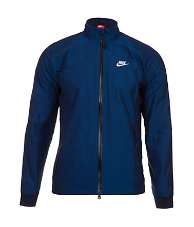 Nike Sportswear N98 International Iridescent Track Trainingsjacke - blau/weiß - L-48/500