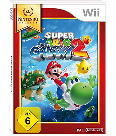 Super Mario Galaxy 2 Nintendo Selects Wii -