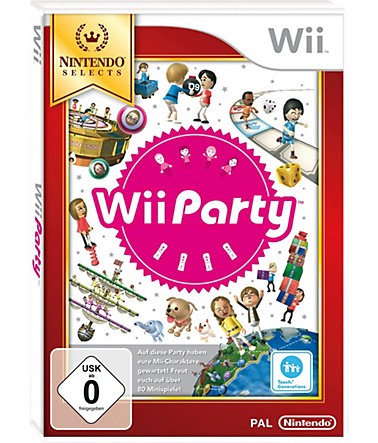 Wii Party Nintendo Selects Wii -