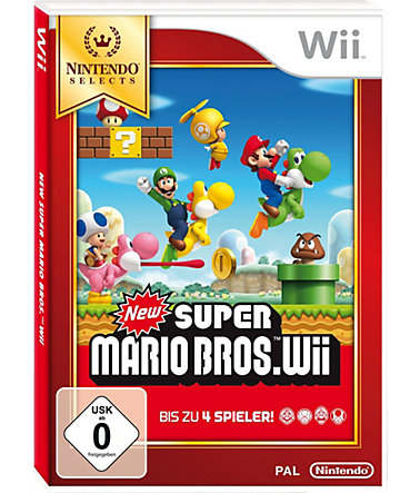 New Super Mario Bros. Wii Nintendo Selects Wii -