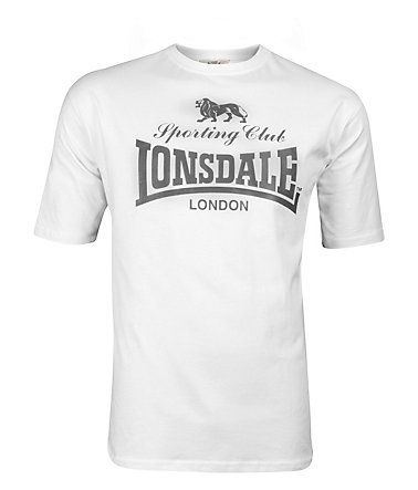 Lonsdale T-Shirt »SPORTING CLUB« - White - L0