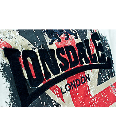 Lonsdale T-Shirt »JACOB« - White - L0