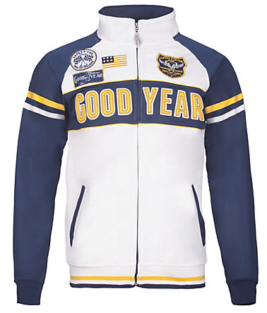 Goodyear Sweatjacke »ARLINGTON« - White/Navy - L0