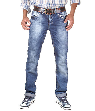 R-NEAL Jeans (stretch) straight fit - denim - 3030 - 34