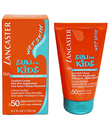 Lancaster, »Sun for Kids - Comfort Cream Wet Skin Application«, Sonnencreme, 125 ml - LSF50 - 125ml