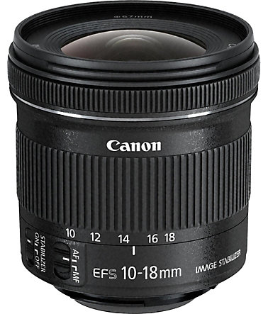 Canon EF-S 10-18mm f/4.5-5.6 IS STM Ultraweitwinkel Objektiv -
