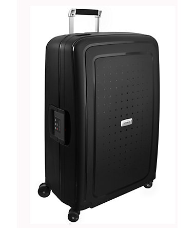 Samsonite, Hartschalen Trolley mit 4 Rollen, »S'Cure DLX™« - graphit - 5555