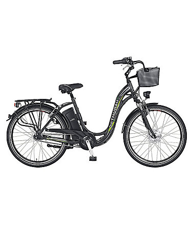 E-Bike City, 28 Zoll, 3 Gang-SHIMANO-Nabenschaltung, »Alu-City Comfort«, Didi Thurau Edition - RH45cm