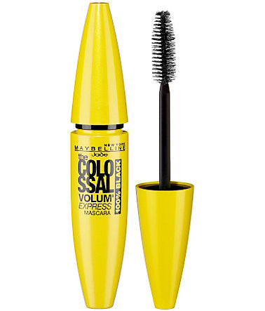 Maybelline New York, »Volum' Express The Colossal 100% Black«, Mascara - black